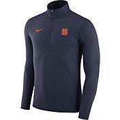 Nike Men's Syracuse Orange Blue Element Performance Quarter-Zip