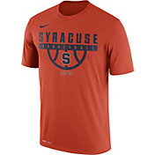 Nike Men's Syracuse Orange ELITE Basketball Legend Orange T-Shirt