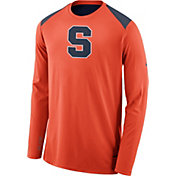 Nike Men's Syracuse Orange Orange Elite Shooter Long Sleeve Shirt