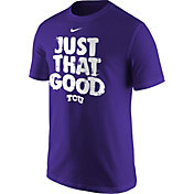 Nike Men's TCU Horned Frogs 'Just That Good' Baseball T-Shirt