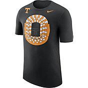Nike Men's Tennessee Volunteers Local Imagery Football Stadium Black T-Shirt