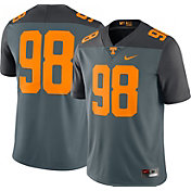 Nike Men's Tennessee Volunteers #98 Grey Limited Football Jersey