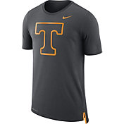 Nike Men's Tennessee Volunteers Anthracite Travel Meshback Dri-FIT Football T-Shirt