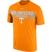 Nike Men's Tennessee Volunteers Tennessee Orange Dri-Fit Team Issue Performance Baseball T-Shirt