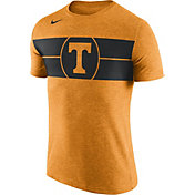 Nike Men's Tennessee Volunteers Tennessee Orange Logo Basketball T-Shirt