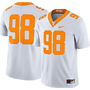 Nike Men's Tennessee Volunteers #98 White Limited Football Jersey