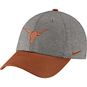 Nike Men's Texas Longhorns Grey/Burnt Orange Heritage86 Heather Adjustable Hat