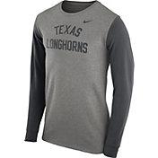 Nike Men's Texas Longhorns Grey Heavyweight Elevated Essentials Long Sleeve Shirt