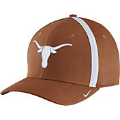 Nike Men's Texas Longhorns Burnt Orange AeroBill Football Sideline Coaches Classic99 Hat