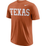 Nike Men's Texas Longhorns Burnt Orange Wordmark T-Shirt