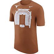 Nike Men's Texas Longhorns Burnt Orange Local Imagery Football Stadium T-Shirt