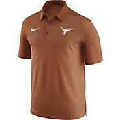 Nike Men's Texas Longhorns Burnt Orange Elite Football Sideline Polo
