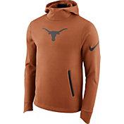 Nike Men's Texas Longhorns Burnt Orange Therma-FIT PHK Elite Basketball Pullover Hoodie