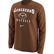 Nike Men's Texas Longhorns Burnt Orange 1997 Retro Football Long Sleeve Shirt