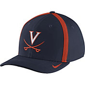 Nike Men's Virginia Cavaliers Blue Aerobill Swoosh Flex Classic99 Football Sideline Hat