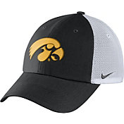 Nike Men's Iowa Hawkeyes Black/White Heritage86 Performance Trucker Hat