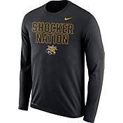 Nike Men's Wichita State Shockers Legend Black Long Sleeve Shirt