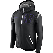 Nike Men's Washington Huskies Black Fly Rush Football Jacket