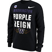 Nike Men's Washington Huskies 2017 PlayStation Fiesta Bowl Bound Verbiage Long Sleeve T-Shirt