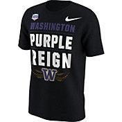 Nike Men's Washington Huskies 2017 PlayStation Fiesta Bowl Bound Verbiage T-Shirt