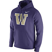 Nike Men's Washington Huskies Purple Club Fleece Hoodie