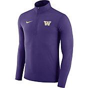 Nike Men's Washington Huskies Purple Element Performance Quarter-Zip
