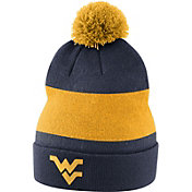 Nike Men's West Virginia Mountaineers Blue Football Sideline Beanie