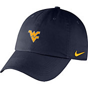 Nike Men's West Virginia Mountaineers Blue Heritage86 Small Logo Adjustable Hat