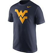 Nike Men's West Virginia Mountaineers Blue Logo T-Shirt
