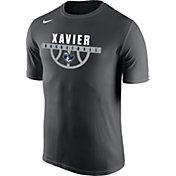 Nike Men's Xavier Musketeers Grey Basketball Legend T-Shirt