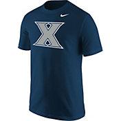 Nike Men's Xavier Musketeers Blue T-Shirt