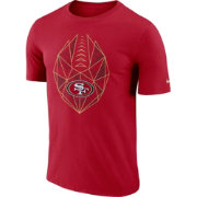 Nike Men's San Francisco 49ers Icon Performance Red T-Shirt