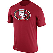 Nike Men's San Francisco 49ers Legend Logo Red T-Shirt
