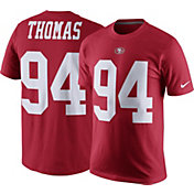 Nike Men's San Francisco 49ers Solomon Thomas #94 Pride Red T-Shirt