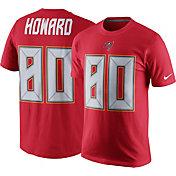 Nike Men's Tampa Bay Buccaneers O.J. Howard #80 Pride Red T-Shirt