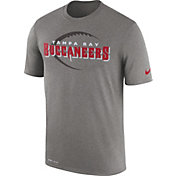 Nike Men's Tampa Bay Buccaneers Legend Football Icon Performance Grey T-Shirt
