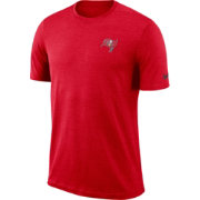 Nike Men's Tampa Bay Buccaneers Sideline Coaches Performance Red T-Shirt