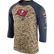Nike Men's Tampa Bay Buccaneers Salute to Service 2017 Camouflage Raglan