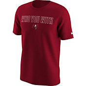 Nike Men's Tampa Bay Buccaneers 'Who You With' Red T-Shirt