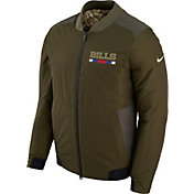 Nike Men's Buffalo Bills Salute to Service 2017 Reversible Bomber Jacket
