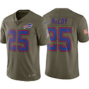 Nike Men's Home Limited Salute to Service 2017 Buffalo Bills LeSean McCoy #25 Jersey