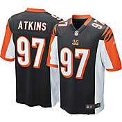 Nike Men's Home Game Jersey Cincinnati Bengals Geno Atkins #97