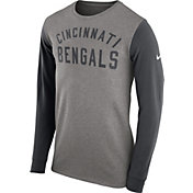 Nike Men's Cincinnati Bengals Heavyweight Charcoal Long Sleeve Shirt