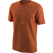 Nike Men's Denver Broncos Color Rush Logo Orange T-Shirt