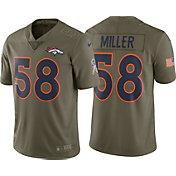 Nike Men's Home Limited Salute to Service 2017 Denver Broncos Von Miller #58 Jersey