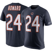 Nike Men's Chicago Bears Jordan Howard #24 Pride Navy T-Shirt