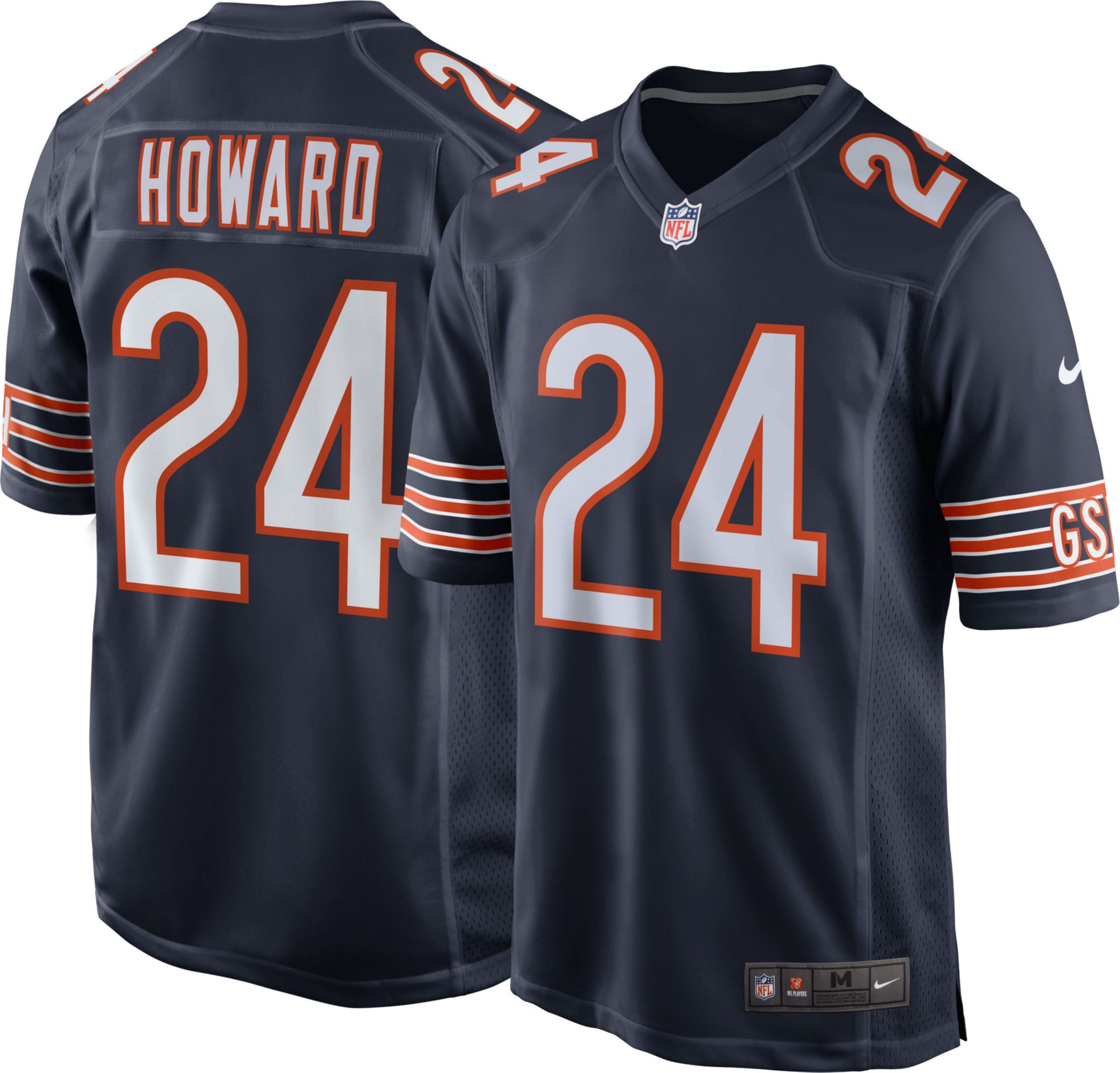 6716e5667aa ... Throwback Jersey Product Image · Nike Mens Home Game Jersey Chicago  Bears Jordan Howard 24 Walter Payton ...