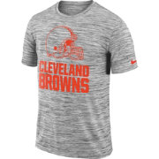 Nike Men's Cleveland Browns Legend Velocity Travel Performance Grey T-Shirt