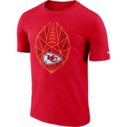 Nike Men's Kansas City Chiefs Icon Performance Red T-Shirt