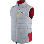 Nike Men's Kansas City Chiefs Sideline 2017 Grey Vest